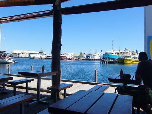 Fremantle City - 港沿いの雰囲気がいいレストラン
