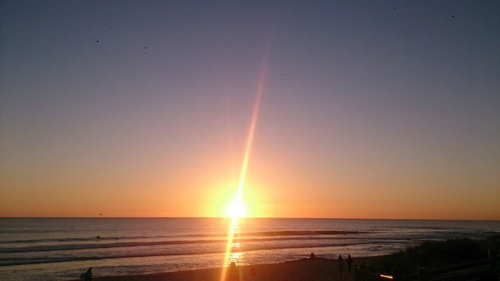 Scabrough Beach - インド洋に沈む夕日