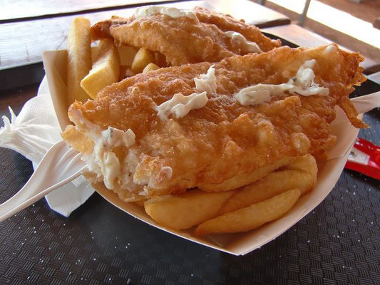 Fremantle Fish and Chips - フリーマントルと言えば【フィッシュ&チップス】