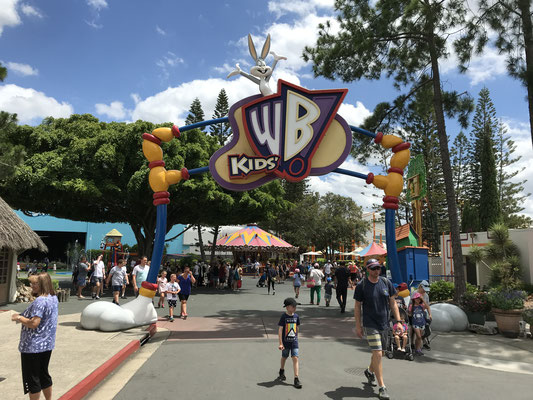 Gold Coast - Movie World Kid's WB! Fun Zone キッズ WD!ファンゾーン