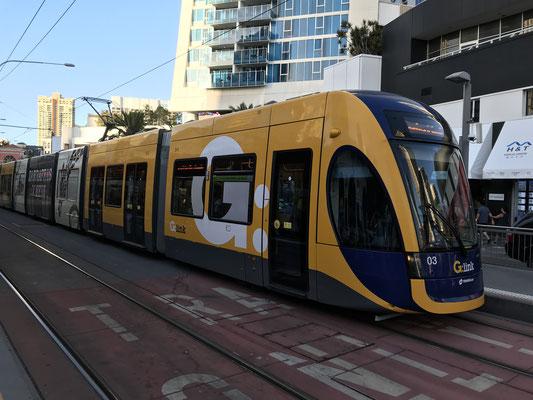 Gold Coast - G:link | Gold Coast Light Rail | Tram Network 留学生・ワーキングホリデーの人たちの公共交通手段 ゴールドコーストの路面電車