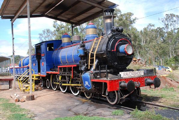 Ravenshoe Railway - レーベンシューにある観光列車で、毎週末に約10kmの短い区間で運行されています