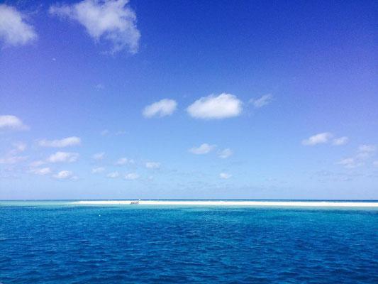 Great Barrier Reef - ミコマスケイは幻のビーチとも言われています。