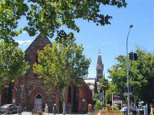 Adelaide City Centre - アデレードは教会の街と言われるほど、たくさんの教会があります。