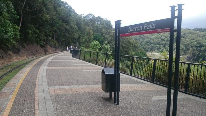 Kuranda - Barron Falls Station バロンフォールズ駅
