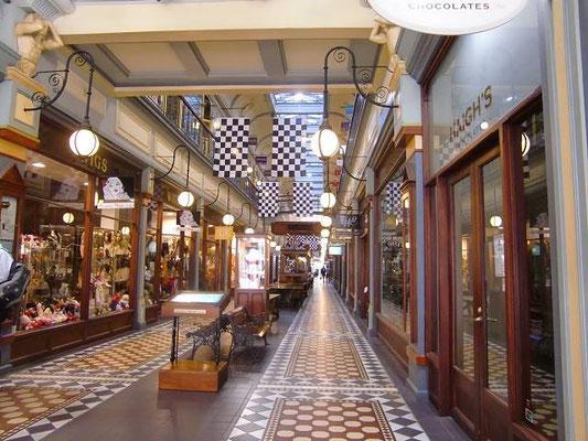 Adelaide Arcade - おしゃれなお店が立ち並んでいます