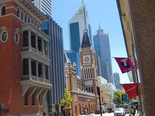 Perth Town Hall - オーストラリア国内で唯一、囚人によって建てられたタウンホールだそうです。