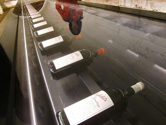 Penfolds Winery - ペンフォールズの歴代グランジ(ペンフォールズ最高級ラインのワイン)