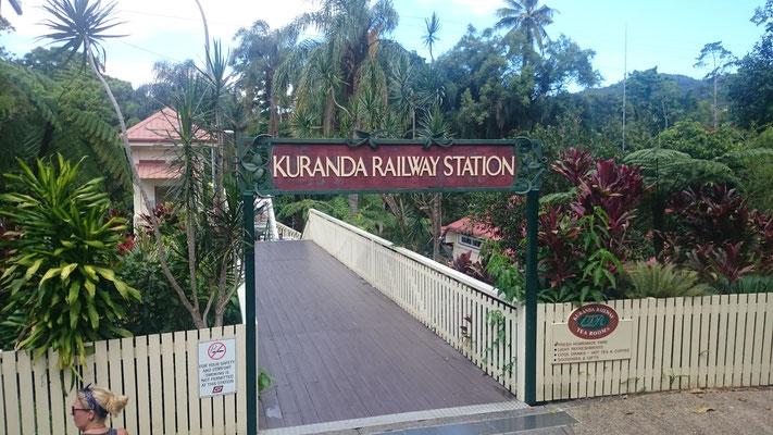 Kuranda - Kuranda Scenic Railway キュランダ駅