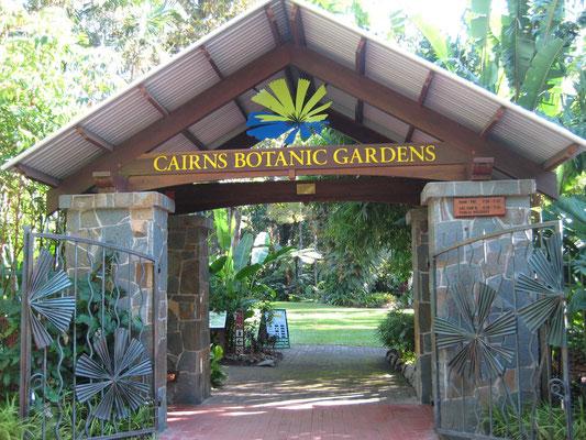 Cairns Botanic Gardens - ケアンズ市立植物園 ケアンズ市内のエッジヒルという場所に植物園があります。入場料は無料 営業時間は7:30~17:30
