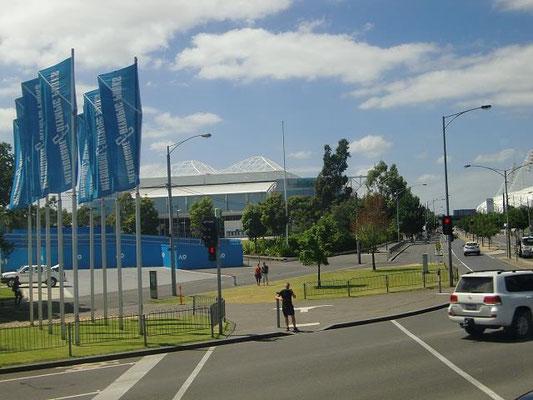 Hisense Arena - 全豪オープンテニスはここで開催されます