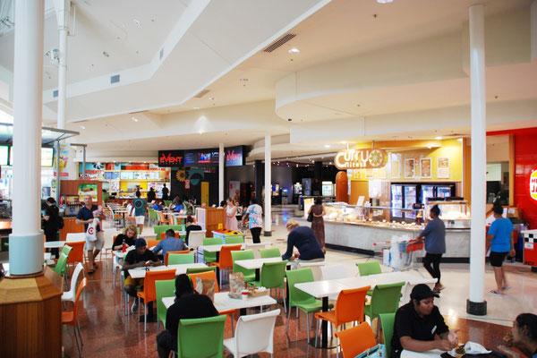 オーストラリアのショッピングセンター内フードコート③