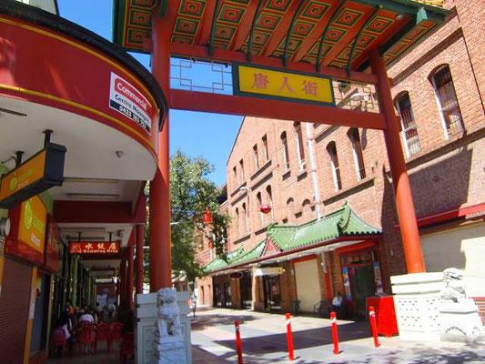 Adelaide Central Market - アデレードの中華街はセントラルマーケットに併設されてます。