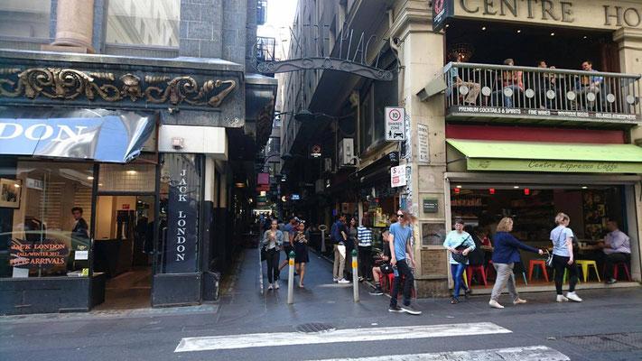 Melbourne City - 町の中心部には多国籍の料理を堪能することができます