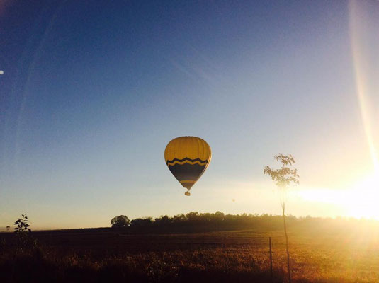 Mareeba hot air balloon - 日の出