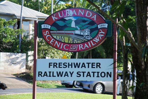 Kuranda Scenic Railway - 観光列車キュランダ鉄道 フレッシュウォーター駅