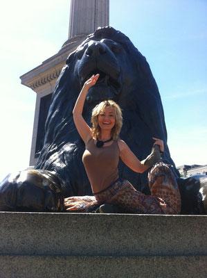 Yoga @ Trafalgar Square