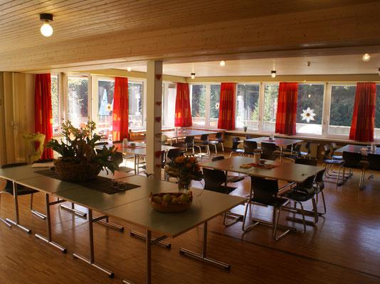 Speisesaal für bis 130 Personen