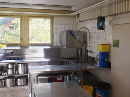 Küche – Abwaschecke