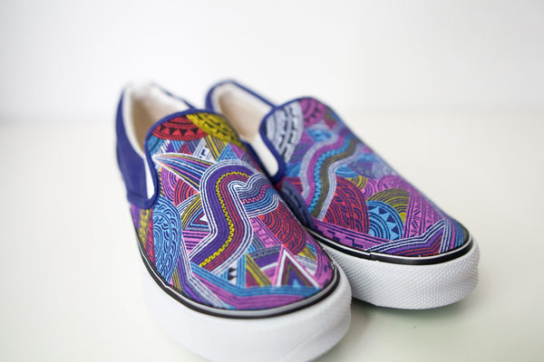 Apsu Hand drwing Shoes/MAGIKA COLOR/JPY 27,000/オーダー可能