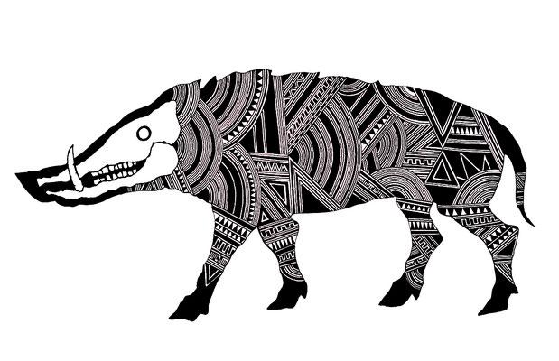 猪/boar