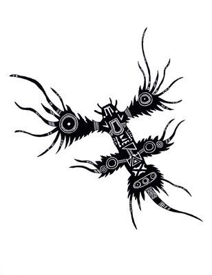 アオミノウミウシ/blue mino sea slug