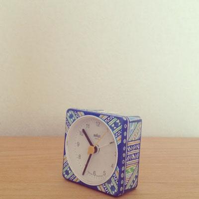 手描きペイント時計