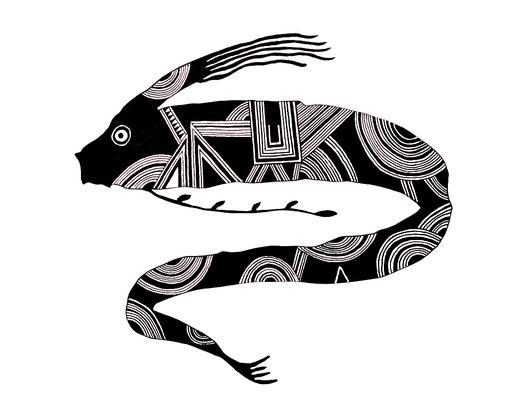 リュウグウノツカイ/giant oarfish