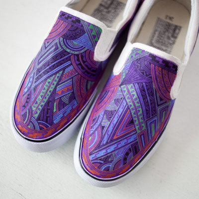 Apsu Hand drwing Shoes/EVA  COLOR/JPY 27,000/オーダー可能