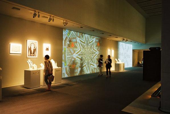 パリのジュエリーブランド「AGATHA PARIS」の新作発表会にてコレボーレーションと展示。会場は表参道スパイラル。