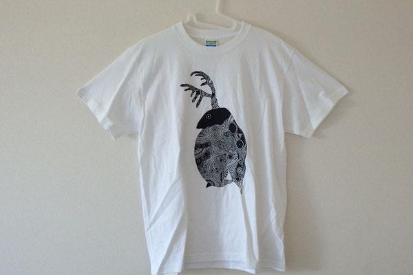 ミジンコTシャツ/WEB SHOPにて販売中
