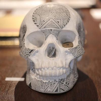 石膏骸骨/JPY80,000/SOLD