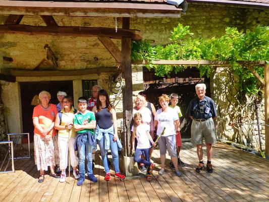 Visite accompagnée sur l'habitat du plateau d'Hauteville Brénod