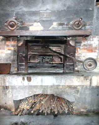 Porte du four de Brénod