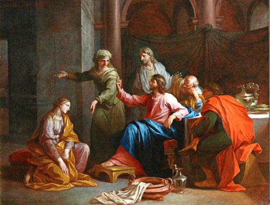 Le Christ Marthe et Marie Jeanne par Daniel Sarrabat