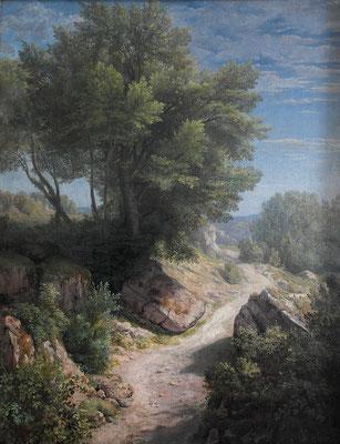 Chemin de Lacoux © Florentin Servan
