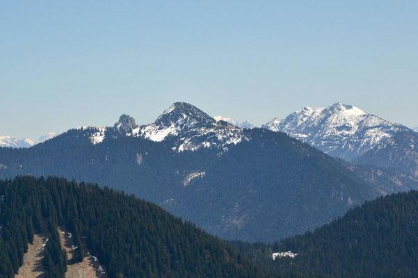 Brauneck und Benediktenwand