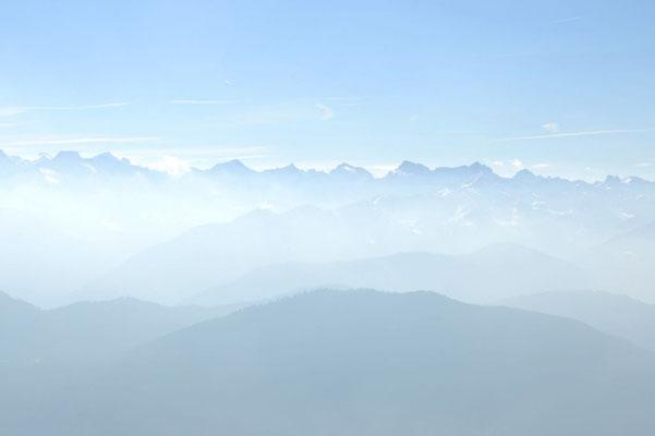 Traumhafte Fernsicht Richtung Karwendel