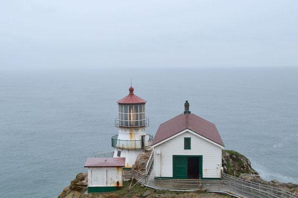 Der Alte Leuchtturm einmal nicht in Nebel gehüllt.