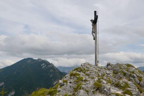 Gipfelkreuz des Kofel