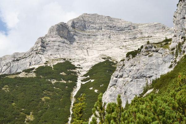 Gipfelgrad des Gufferts vom Tal