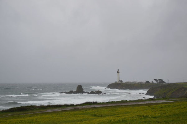 Leuchtturm am Pigeon Point