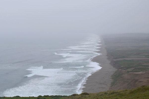 Die Küstenlinie von Piont Reyes.
