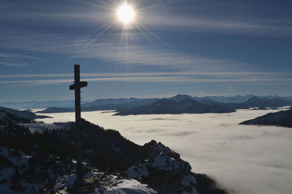 Gipfelkreuz des Taubenstein