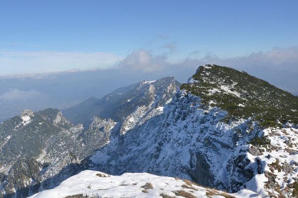 Gipfel erreicht, Zeit für einen Blick zurück
