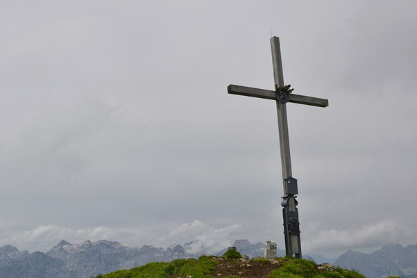 Gipfelkreuz des Schafreiters
