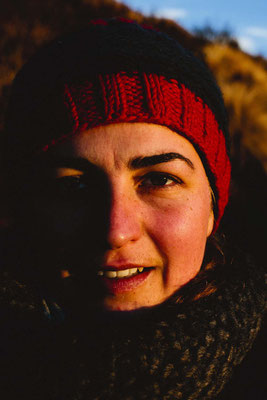 Die goldenen Stunde oder Sonnenaufgang, Mardi Himal Trek, Nepal