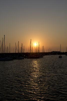 Sunset Helgoland