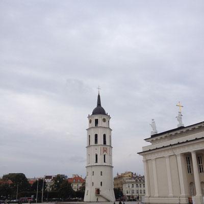 Zentrum von Vilnius