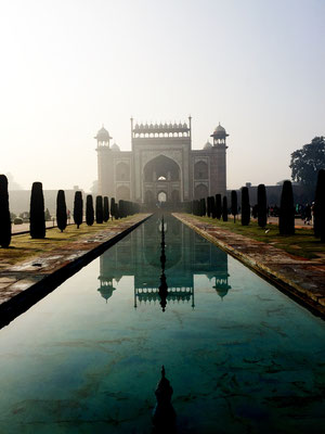Taj Mahal, Aggra, India